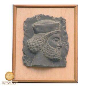 تابلو چوبی سرباز