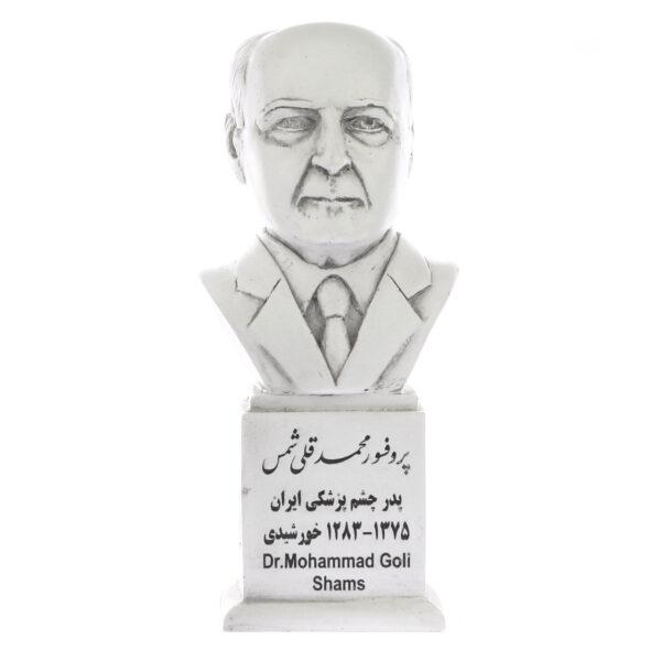 تندیس یادمان طرح پروفسور محمدقلی شمس کد S158